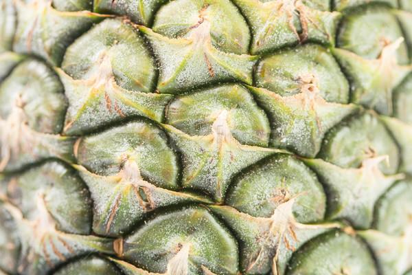 Foto d'archivio: Ananas · thai · frutta · isolato · bianco · foglia