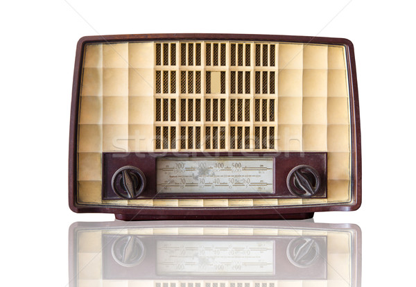 Vintage Transistor radio  Stock photo © hin255