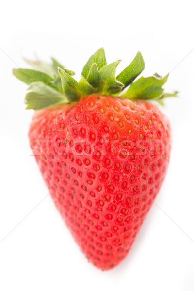 イチゴ ベリー 孤立した 白 食品 葉 ストックフォト © hin255