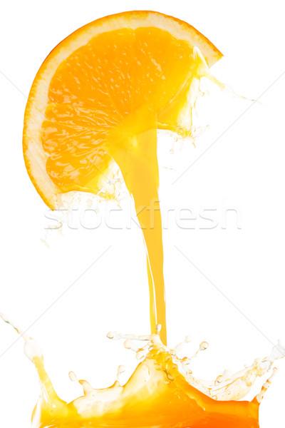 Orange juice splash prepare  Stock photo © hin255