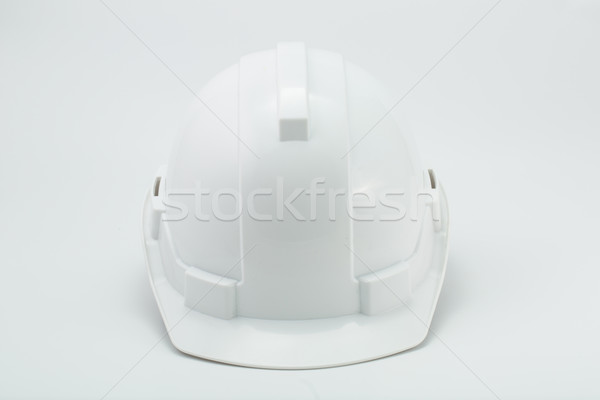 White safety hat  Stock photo © hin255