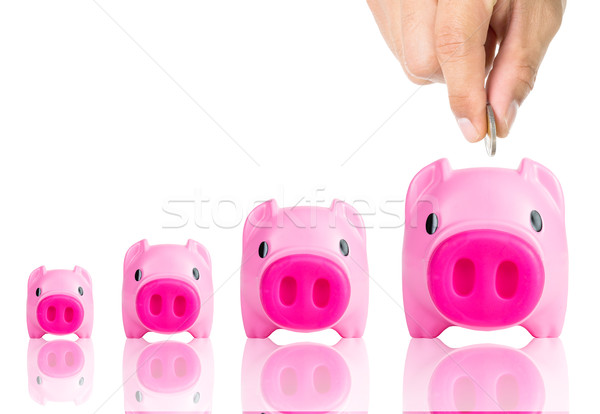 Piggy bank  Stock photo © hin255