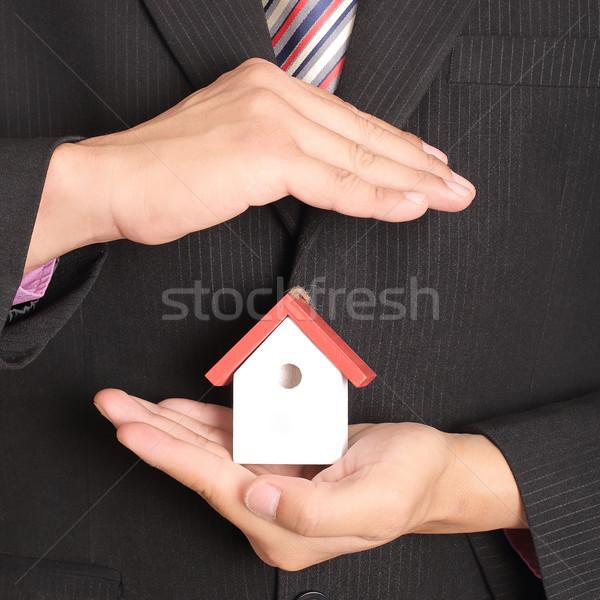 家 手 ビジネス ホーム 生活 ストックフォト © hin255