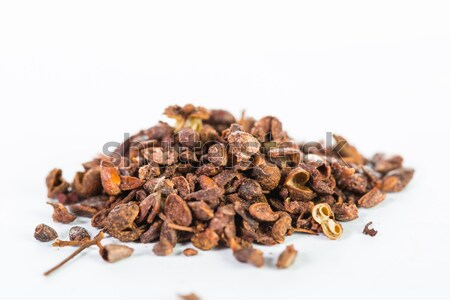 Sichuan pepper isolated Stock photo © hin255