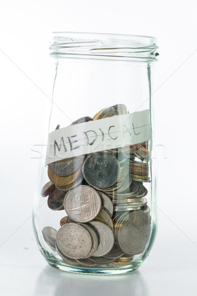Stock photo: Saving money