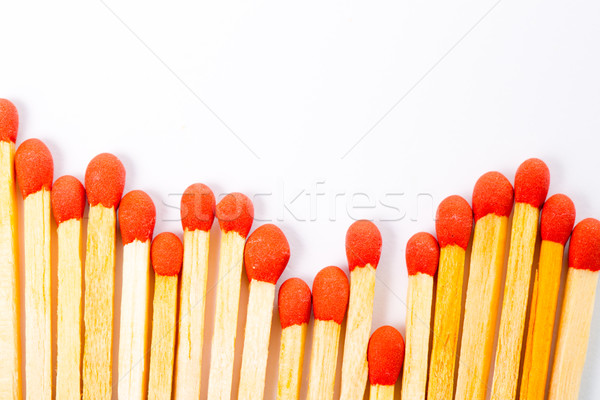 Match and matchbox isolated  Stock photo © hin255