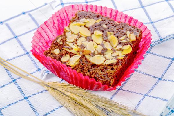 甘い カップ ケーキ 孤立した 白 料理 ストックフォト © hin255