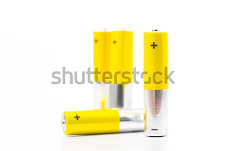 Battery AAA size arrange for use  Stock photo © hin255