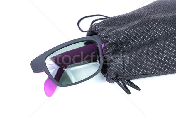 Sunglass bag black color  Stock photo © hin255