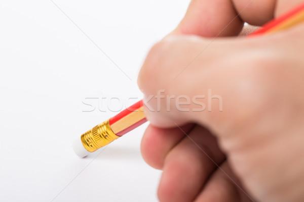 Pencil erased  Stock photo © hin255