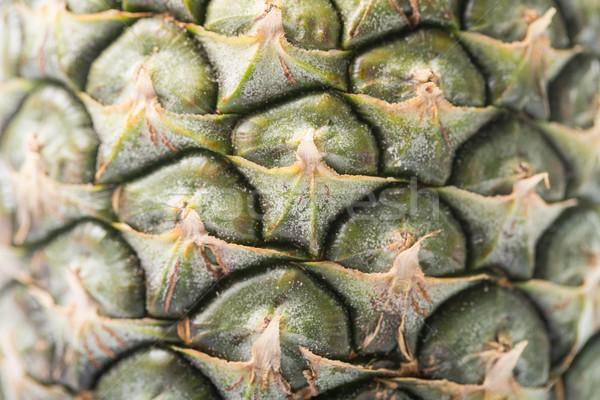 Ananas thai fruits isolé blanche feuille Photo stock © hin255