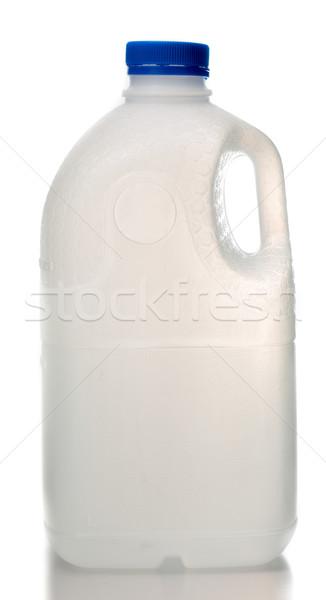ミルク ボトル ドリンク 午前 朝食 液体 ストックフォト © hin255