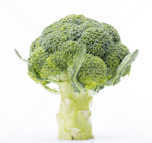 ブロッコリー 緑 孤立した 白 食品 食べ ストックフォト © hin255