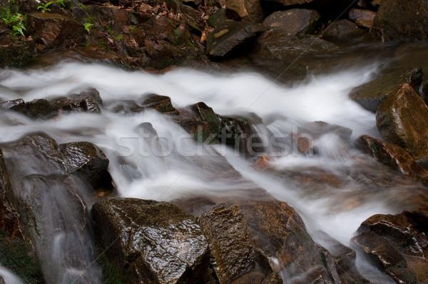 Namtok Phlio, Phlio waterfall Stock photo © hinnamsaisuy