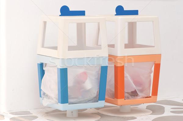 colorful dustbin Stock photo © hinnamsaisuy