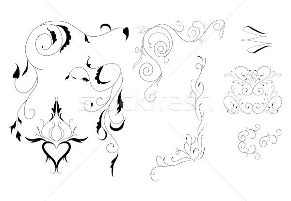 arabesque for decoration Stock photo © Hipatia