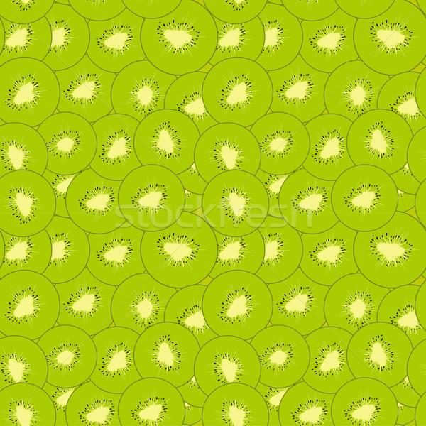 Kiwi verde fette frutta texture Foto d'archivio © Hipatia