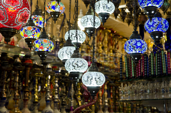 Oriental Lanterns Stock photo © hitdelight