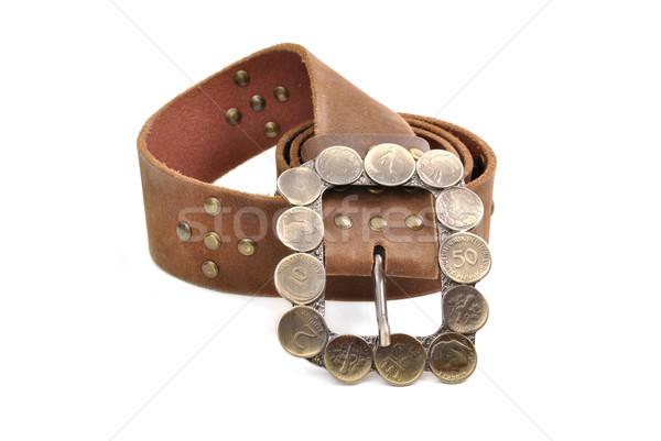 Leather belt Stock photo © hitdelight