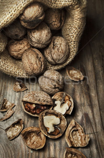Walnuts Stock photo © hitdelight