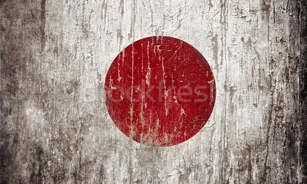 Flag of Japan Stock photo © hitdelight