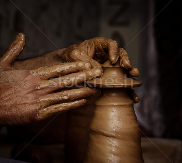 Pottery Stock photo © hitdelight