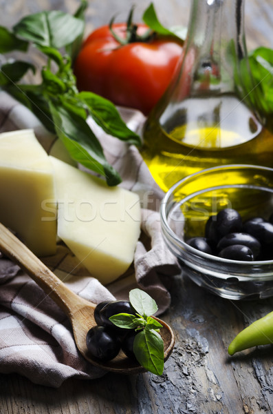 Mediterranean Cuisine Stock photo © hitdelight