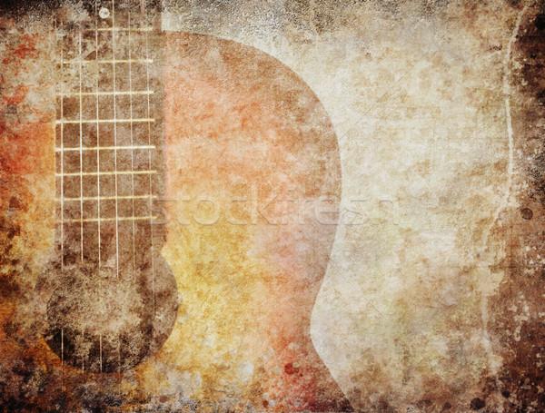 Grunge Music Stock photo © hitdelight