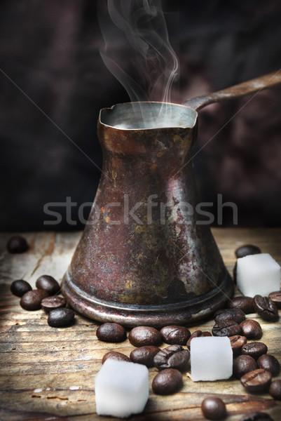 Oriental coffee pot Stock photo © hitdelight