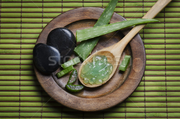 Aloe Vera Gel Stock photo © hitdelight