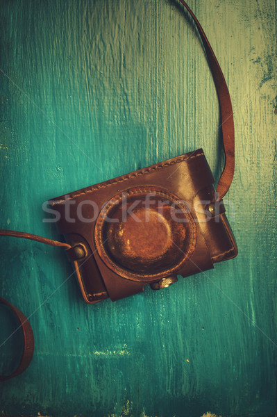 Vintage photo camera Stock photo © hitdelight