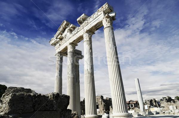 Temple of Apollo in Side Stock photo © hitdelight