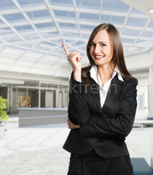 Business Woman Stock photo © hitdelight