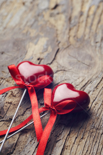 Valentine Hearts Stock photo © hitdelight