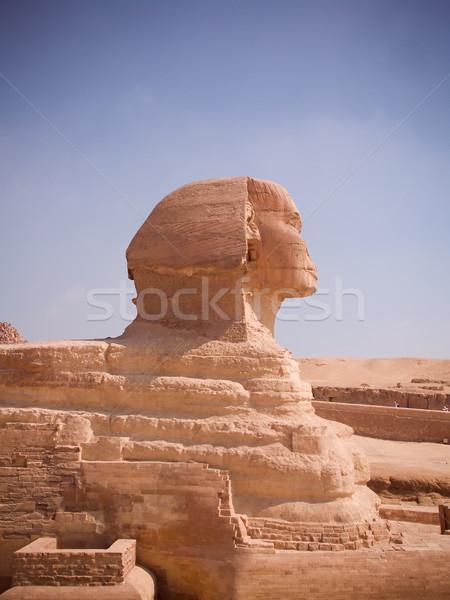 Great Sphinx of Egypt  Stock photo © hitdelight
