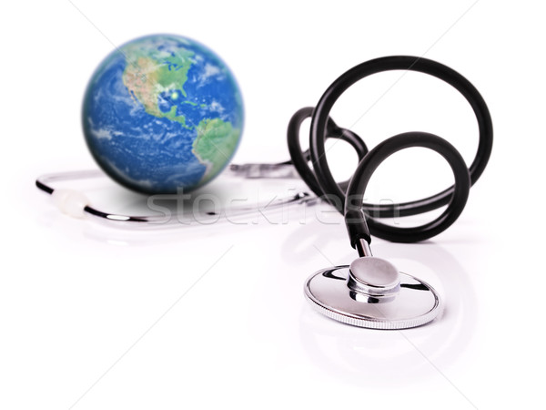 Global healthcare Stock photo © hitdelight