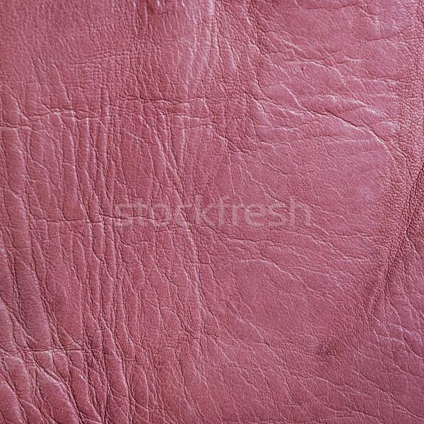 Rosa pelle texture naturale moda Foto d'archivio © hitdelight