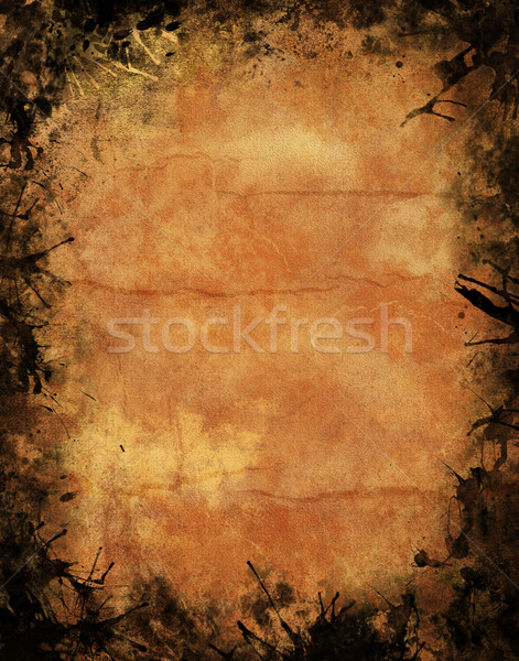Halloween grunge texture grunge poster muro Foto d'archivio © hitdelight