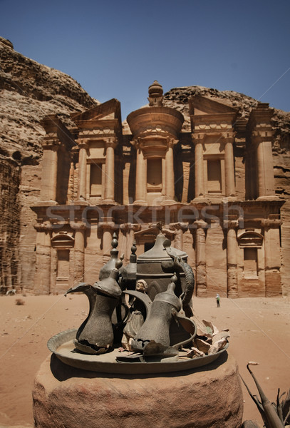Stock foto: Ad · Kloster · Gebäude · Welt · Wüste · Reise