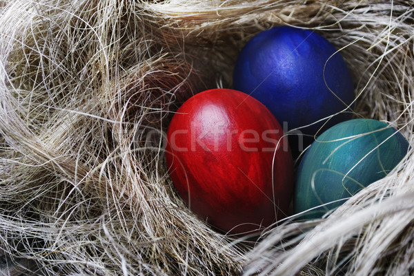 Easter eggs Stock photo © hitdelight