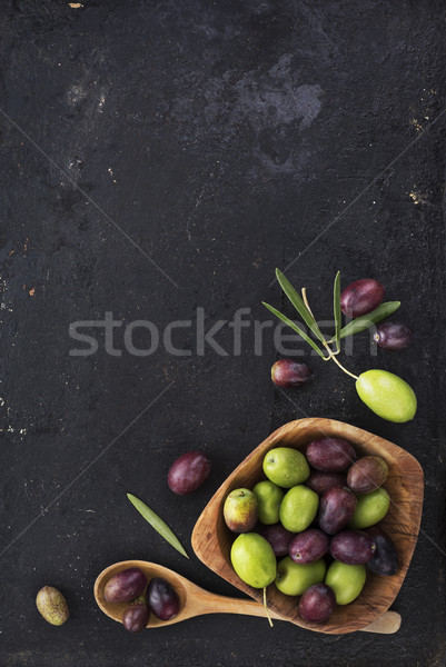 Olives Stock photo © hitdelight
