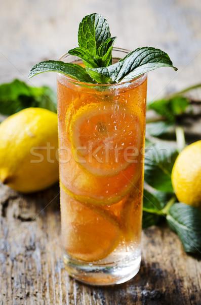 Ice Tea Stock photo © hitdelight