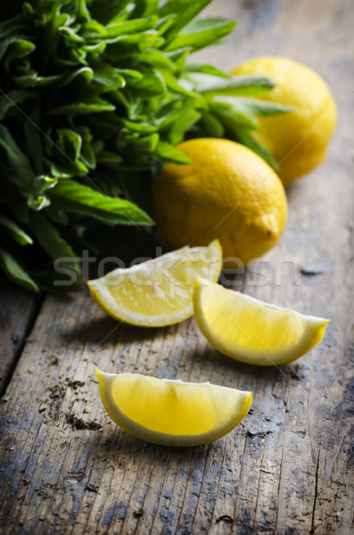 Lemon Slices Stock photo © hitdelight