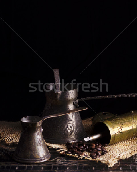 Vintage coffee pot Stock photo © hitdelight