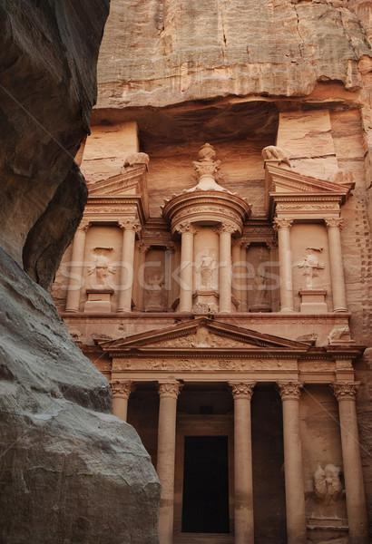 Al Khazneh, Petra Stock photo © hitdelight