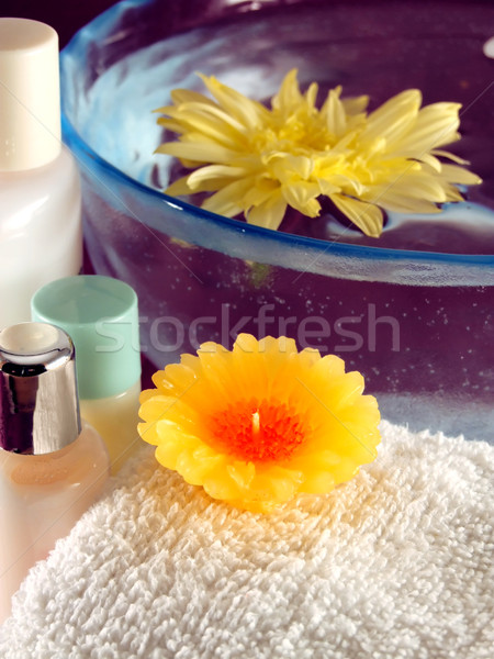 Spa Essentials Stock photo © hitdelight