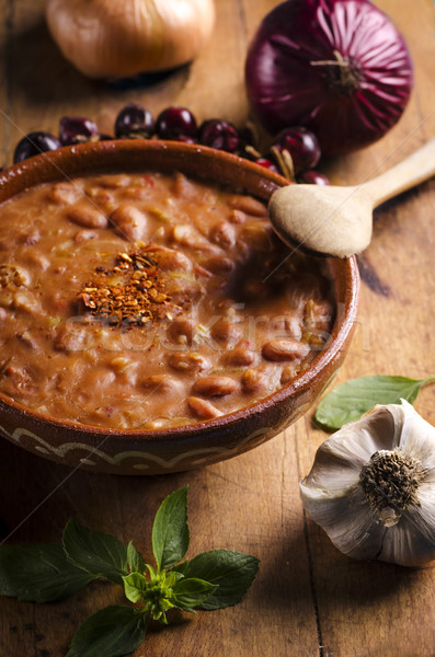 Baked Beans Stock photo © hitdelight