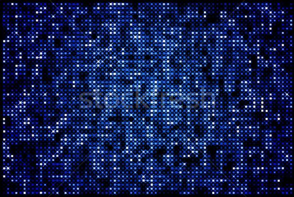 sparkling blue backgorund Stock photo © hitdelight