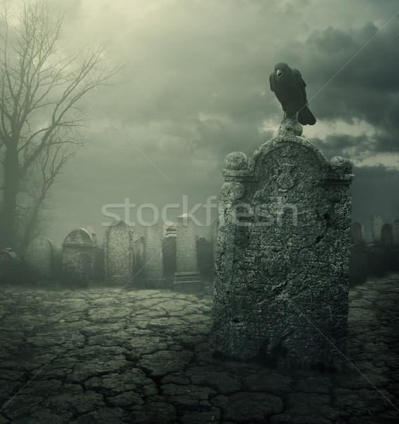 Tombstone Stock photo © hitdelight