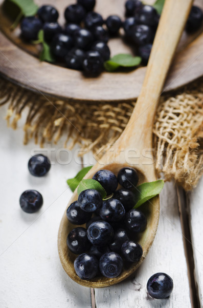 Blueberry Stock photo © hitdelight